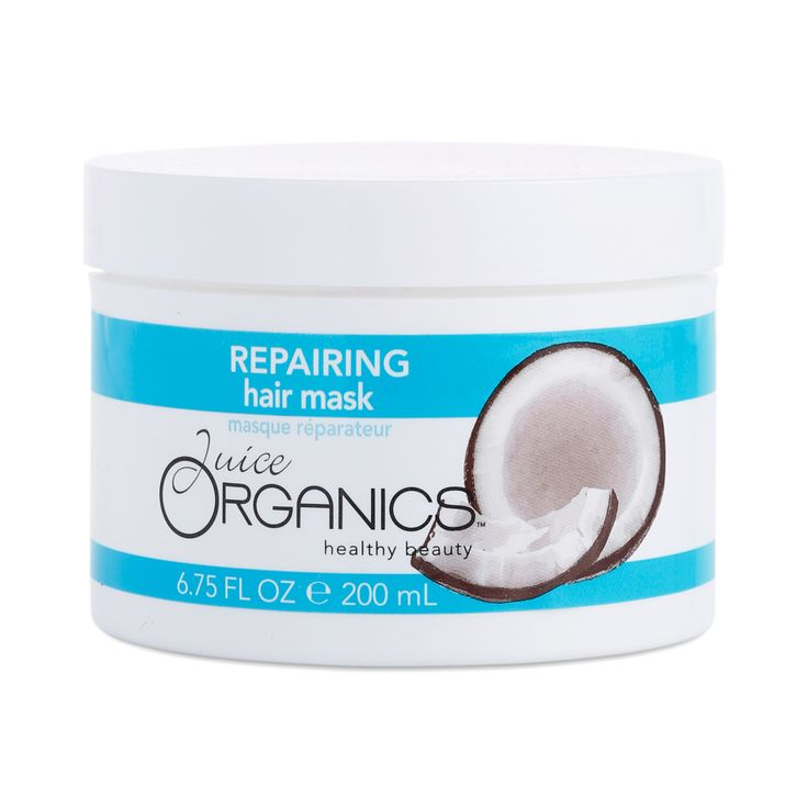 Save hair that's taken a daily beating with gentle yet effective ingredients in this deep-treatment mask. A thick blend of organic coconut, soy proteins, and vitamin B5, this repair mask helps your locks become less prone to breakage and nourishes them wi
