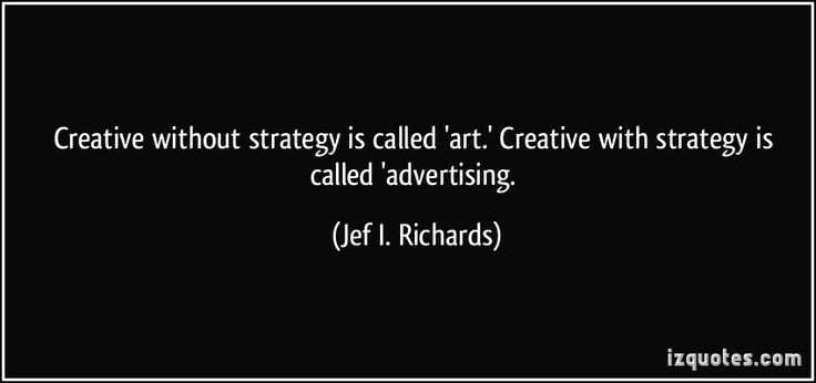 Creative strategy. #business