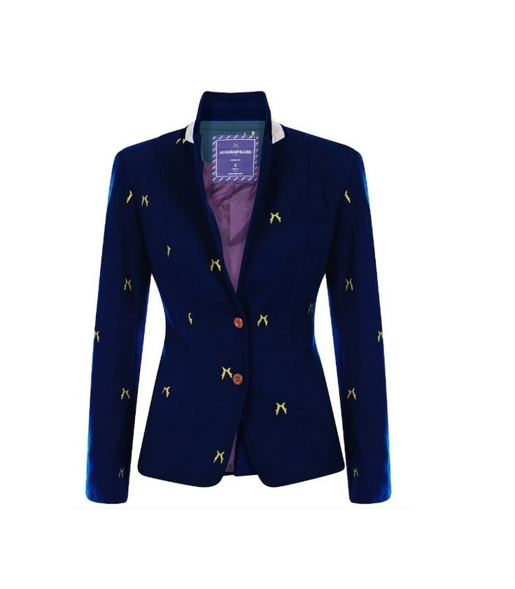 Get that preppy look with Sporting Hares Beauchamp Blazer in Deep Blue! Team with your skinny jeans, long boots and dazzle with your favourite handbag! Made with a luxurious wool blend, taffeta silk lining and velvet under-collar. This jacket is a must have! #sportinghares #beauchampblazer #deepblue Only £155.00! Visit our website for more info! www.lofthouse-equestrian.co.uk