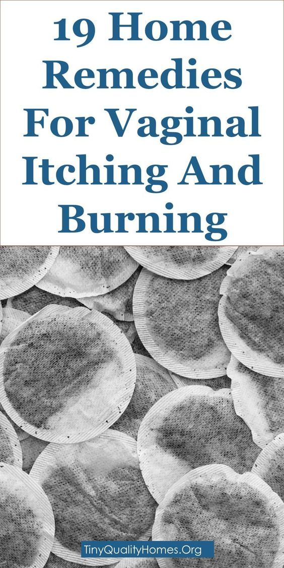 Burning itching clitoris