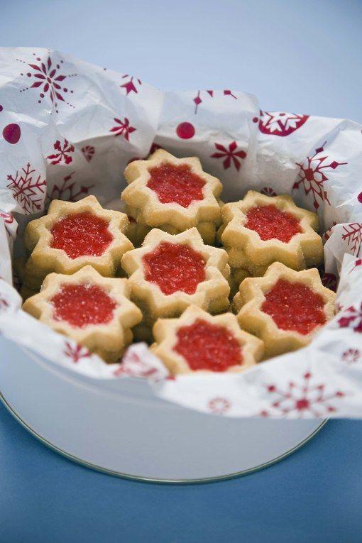 Ces petites tartelettes à la confiture vont égayer les goûters des fêtes de fin d'anné.