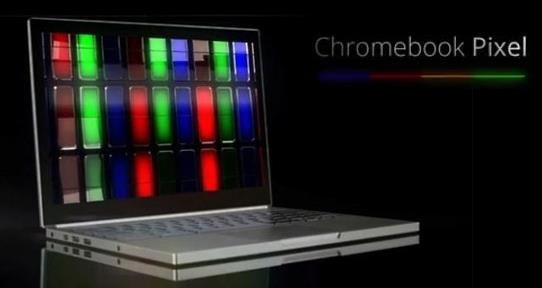 El novedoso Chromebook Pixel de Google