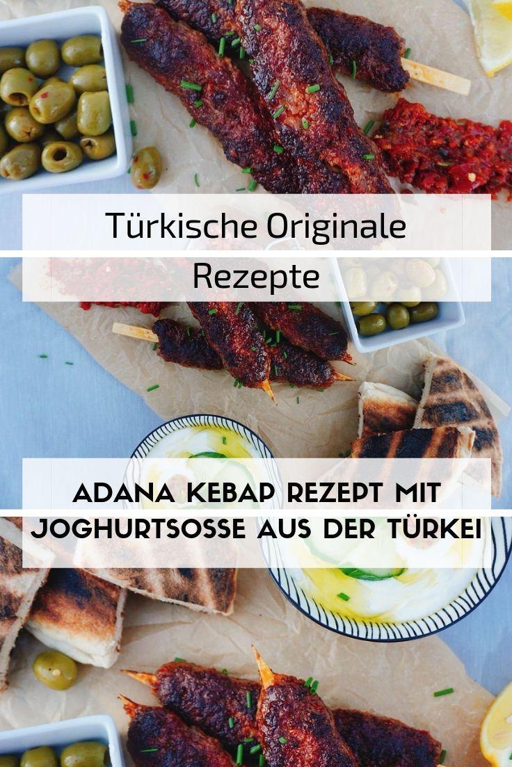 Adana Kebap Mit Joghurt Rezept Spiesse Rezept Rezepte Und