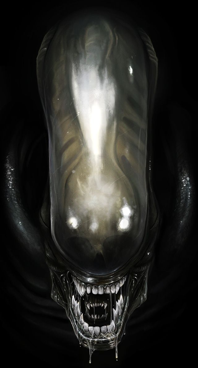 Alien ( I smoked a fatty for the first time in @ 2 yrs., then went to the movies....)