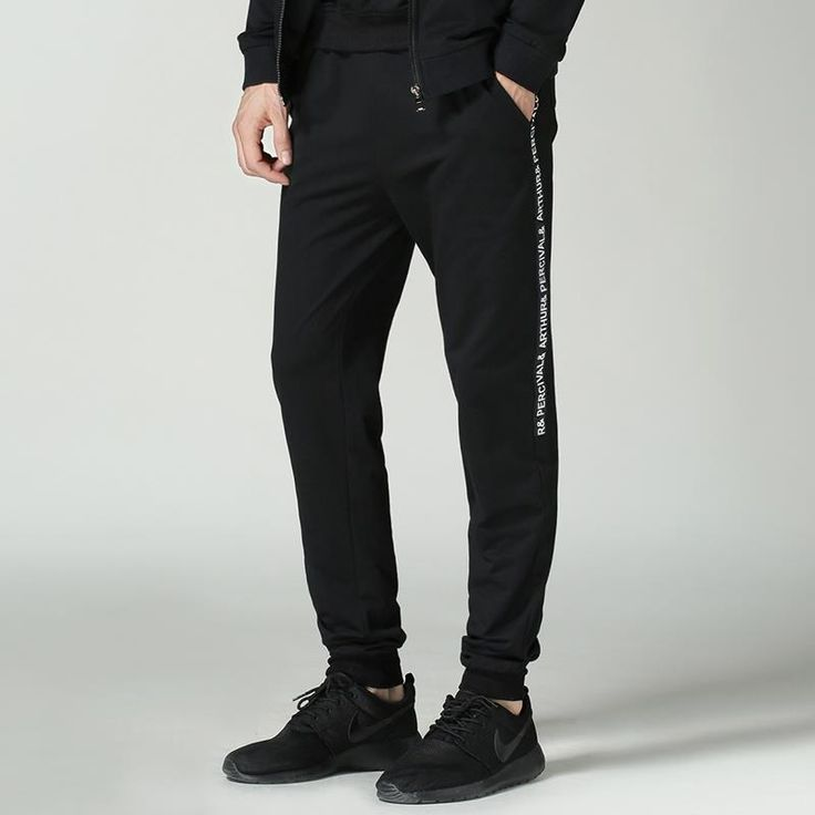 Find More Casual Pants Information about New Loose Men's Jogging Pants Black Side Letters Printed Drawstring Sweatpants For Men Plus Size Sport Pant Casual Trousers Man,High Quality pants girls,China pants breeches Suppliers, Cheap sweatpants wholesale from Eric's on Aliexpress.com