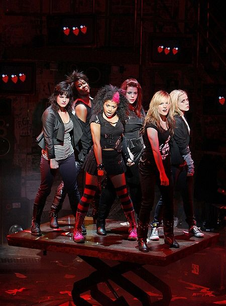 Rebecca Naomi Jones as Whatsername and company in American Idiot.<<<Okay I am now in love with Rebecca Naomi Jones.
