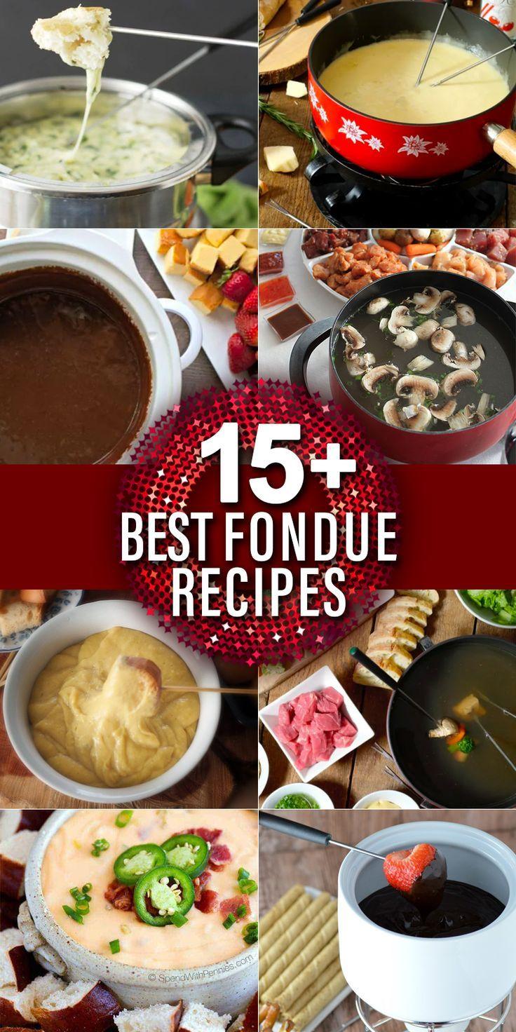 15 Best Fondue Recipes Best Fondue Recipe Fondue Recipes Fondue Dinner