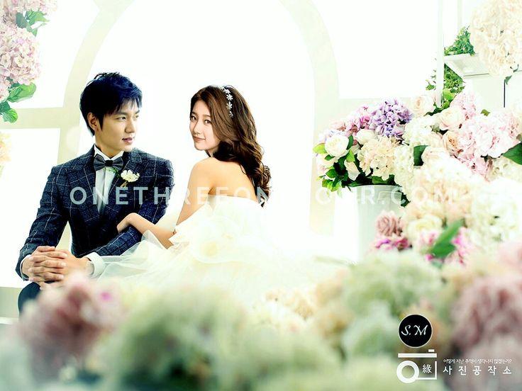 Bae Suzy and Lee Min Ho wedding dress