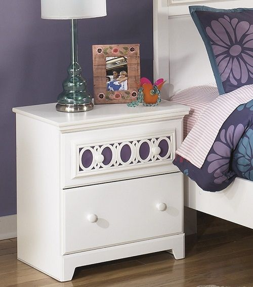 two drawer night stand by ashley furniture brand furniture deal ticket - Multi Bedroom Decor