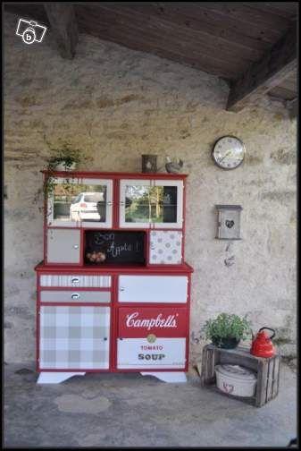 Buffet - deux corps mado tomato soup campbell's Ameublement Vendée - leboncoin.fr