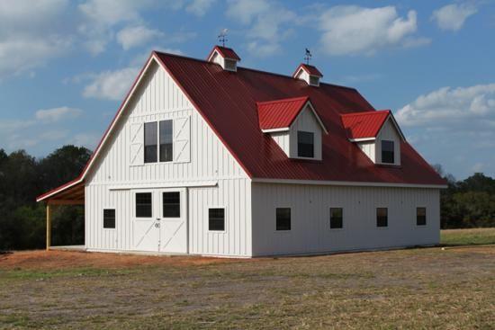 As 25 melhores ideias de pole barn house cost no pinterest for 40x50 pole barn