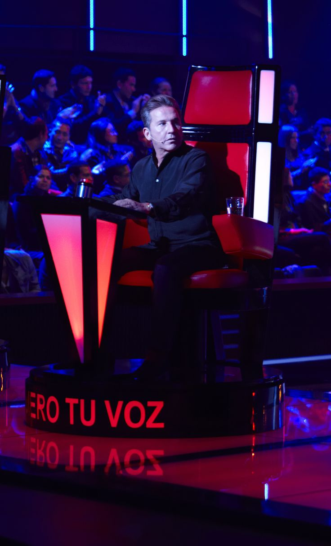 Ricardo Montaner 'El papa de los pollitos'    Uno de los entrenadores   que nos acompañara todas las noches en la segunda temporada de 'La voz Colombia'.