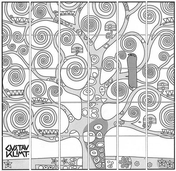 Come disegnare l albero della vita di gustav klimt for Disegnare progetti