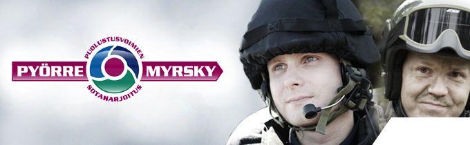 Puolustusvoimat - Pyörremyrsky - Puolustusvoimien sotaharjoitus 2011