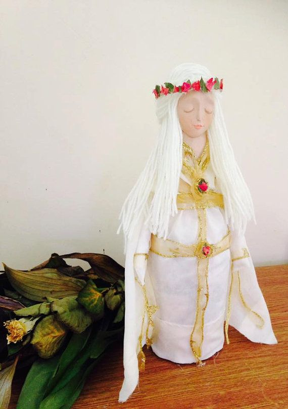 Goddess Freya Wiccan Pagan Goddess of Love and by WhiteWolfCraft