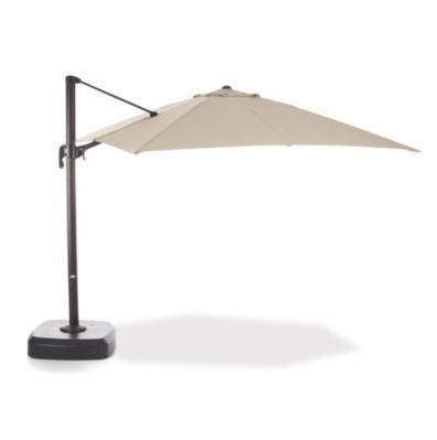 Patio Season: Take control of the shade with a large resort umbrella