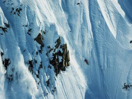 Skiing phenom skis some sick Alaska verticals in Teton Gravity film