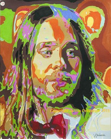 #jaredleto Jared Leto #singer #songwriter #thirtysecondstomars & #oscar2015 #winner #pastel #art #portrait #artwit #limitededition #prints $40 #Echelon www.jamesdeweaver.com.au/