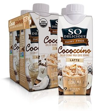 So Delicious Dairy Free Cococcino - Coconut Milk Iced Latte and Mocha (dairy-free, soy-free, vegan)