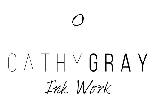Cathy Gray Ink Work