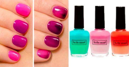 Conoce este increíble ESMALTE de uñas que CAMBIA de color según tu estado de ánimo