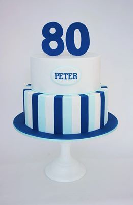 80th Birthday Cake For Men