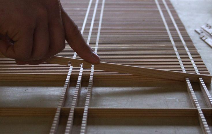 Senbon-koushi Kumiko Japanese lattice