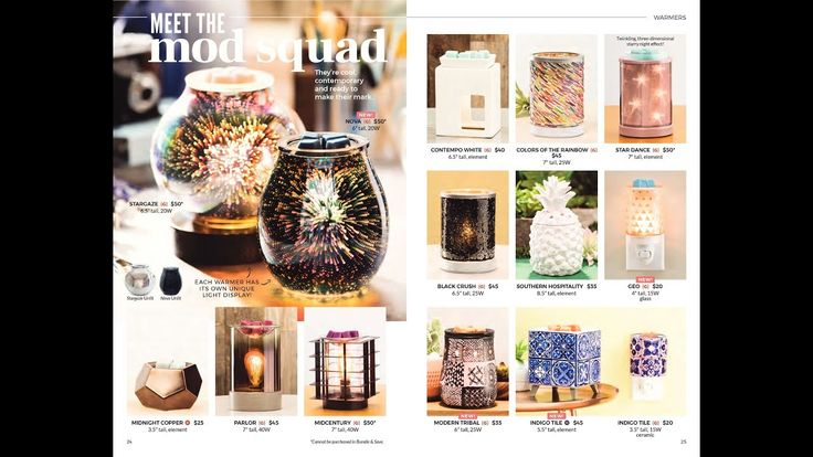 Scentsy Catalog Review: 2018 Spring:Summer