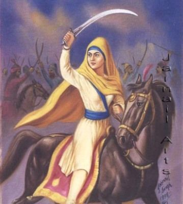 Mai Bhago, Sikh warrior