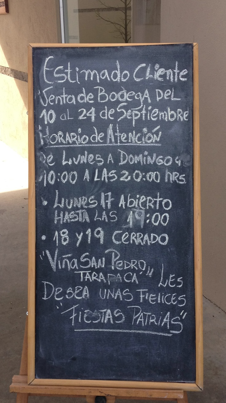 Venta de Bodega Viña San Pedro. Molina - Chile