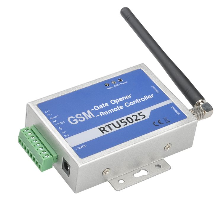Image of GSM Relay Controller - Quad Band GSM, Support 64 Authorized Numbers, No Call Fees (Blue)