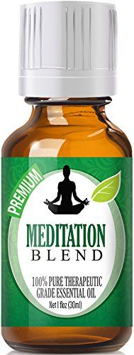 Meditation Blend 100% Pure, Best Therapeutic Grade Essential Oil - 30ml / 1 (oz) Ounce - Ylang Ylang, Patchouli, Frankincense, Clary Sage, Sweet Orange, Thyme, French Lavender * Awesome product. Click the image : thyme essential oil