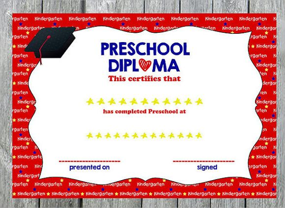 24 best diplomas images on Pinterest Graduation ideas, Pre school - new preschool certificate templates free