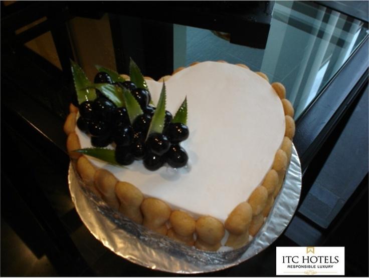 Blueberry cream #cake