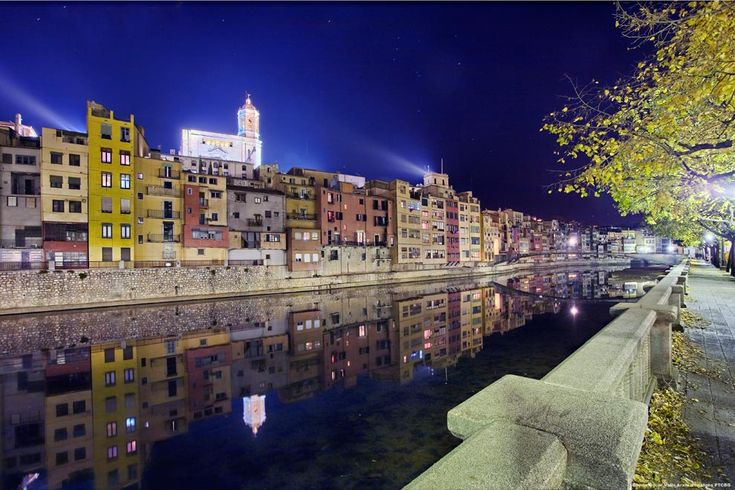 Girona city center, Catalonia