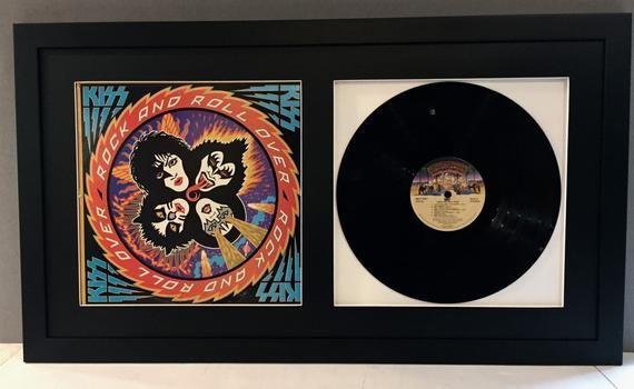 Vinyl Record Jacket Frame Displays 12 Lp Etsy In 2020 Vinyl Record Frame Frame Display Framed Records