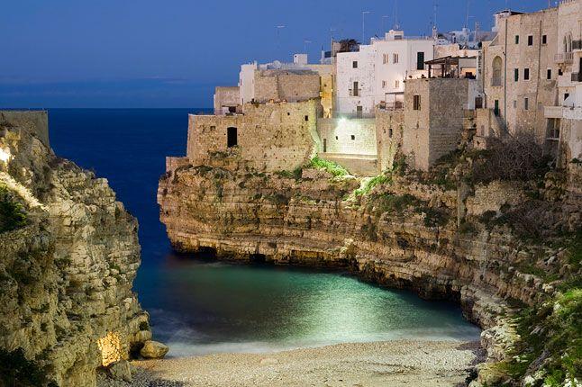 Polignano al mare, Puglia - I like this place very much