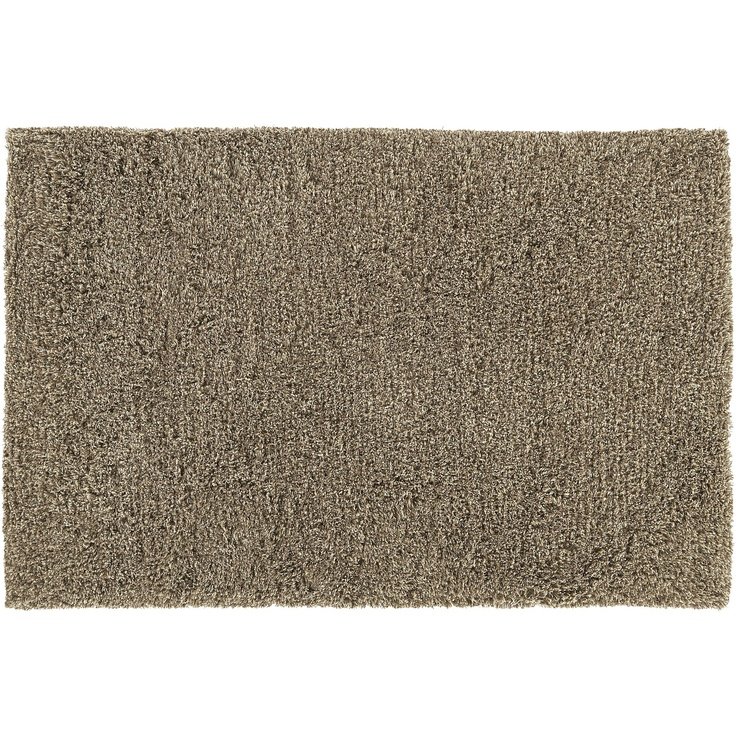 Zia Latte Shag Rug in Area Rugs | Crate and Barrel