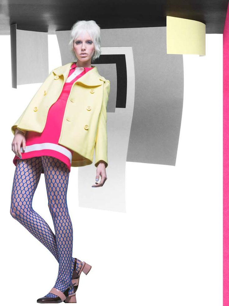 Victory Boogy Woogy by Jaap Vliegenthart #fashion #freaky #colour #model #photography