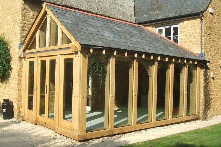 Oak Garden Room Extension Exterior