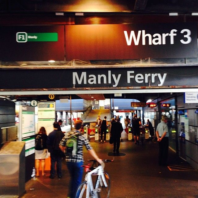 Day trip to Manly Beach on the Fast Ferry