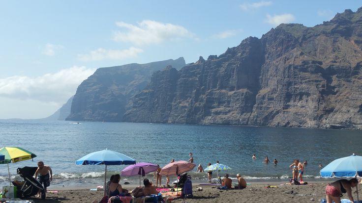 Guíos Beach at Los Gigantes - Playa Los Guíos en Los Gigantes