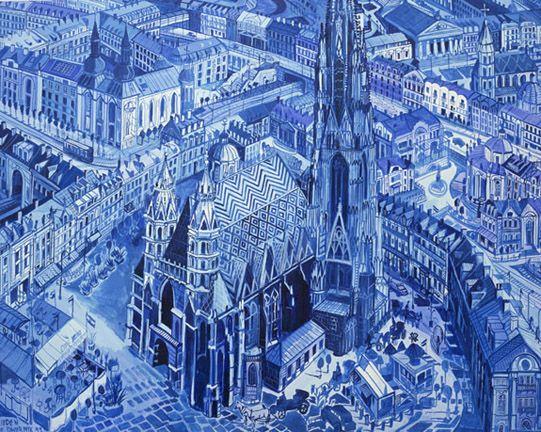 Wiedeń (błękitny)