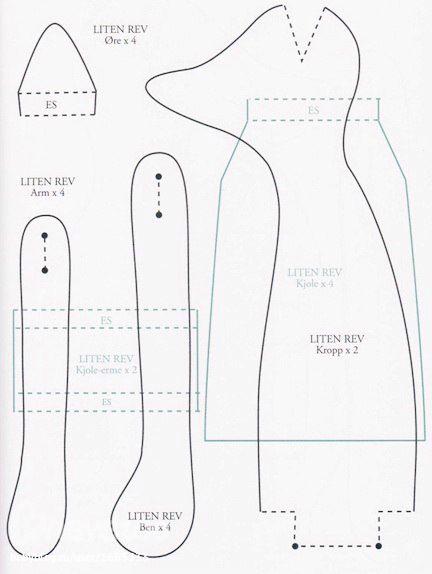 Patterns do novo livro Tildas Inverno
