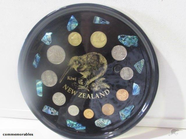 Paua & NZ Coin Tray (DS)   Trade Me