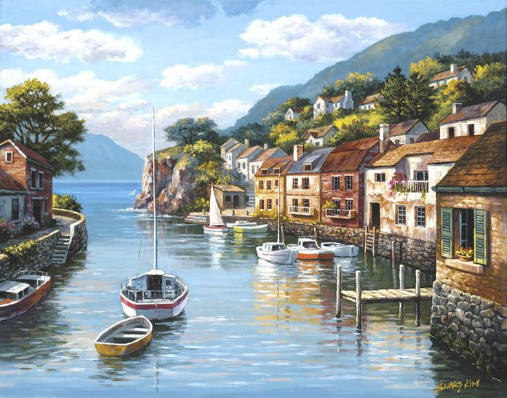 Village On The Water