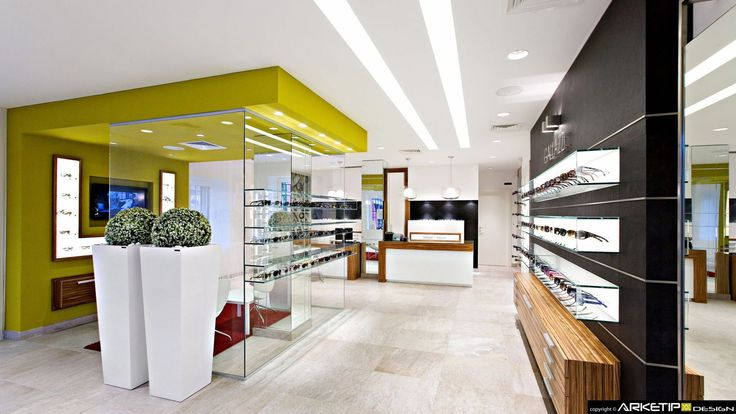 Ottica GALLAZZI, Buscate (MI)  project ARKETIPO DESIGN Milano (Italy) www.arketipodesign.it