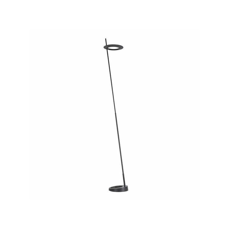 Sonneman 2415 Ringlo 1 Light LED Floor Lamp Satin