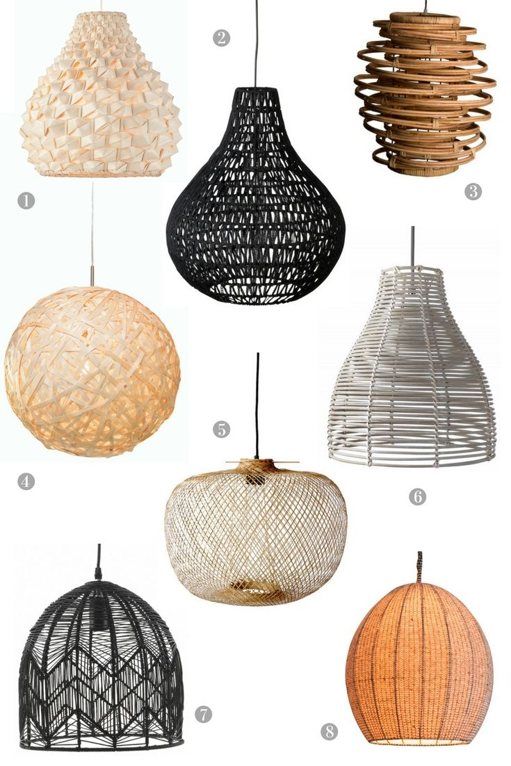 Woven And Sustainable Lamp Shades The Best Of The Bunch