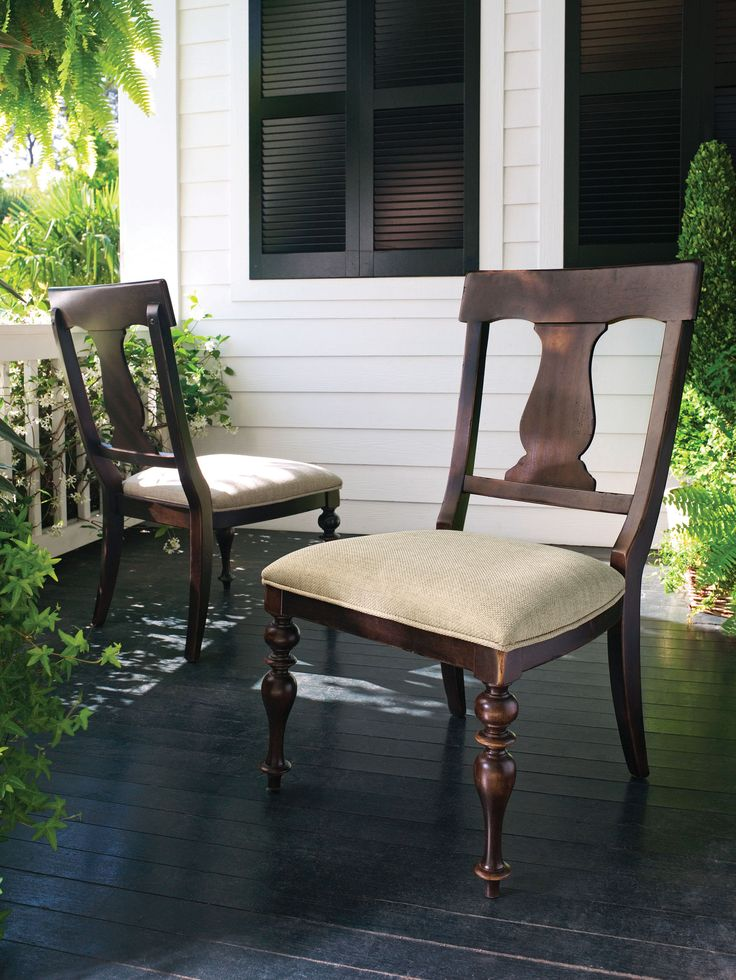 Paula Deen Home Collection S Side Chair In A Finish Dining Room Chairsside